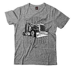 Camiseta Eloko Country Truck - Preto