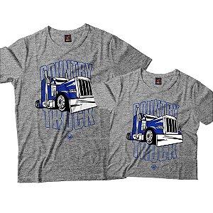 Kit Pai e Filho - Country Truck Azul