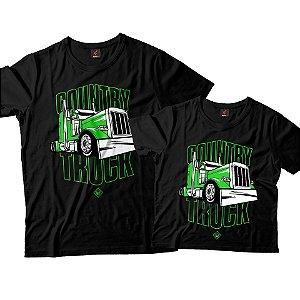 Kit Pai e Filho - Country Truck Verde