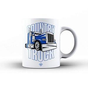 Caneca Eloko Country Truck Azul