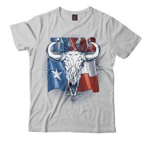 Camiseta Eloko Texas Skull