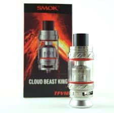 TFV12 Cloud Beast King RBA Prata (Ø25mm)