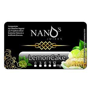 Lemoncake - Bolinho de Limão