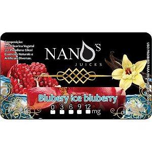 Blubery ice Bluberry - Mentol, Romã e Baunilha