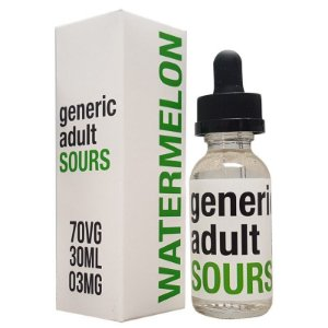 GENERIC ADULT SOURS E-LIQUID - MELANCIA