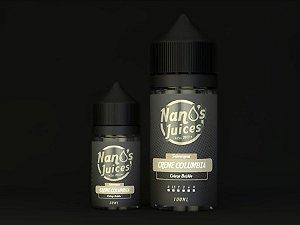 Nano`s juices - Creme Colúmbia - Creme Brulee