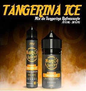 Nano`s juices - TANGERINA ICE - Tangerina refrescante