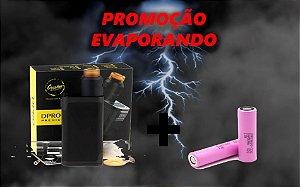 Kit DPRO Premium 133W + 2 baterias Samsung 30Q (PROMOÇÃO EVAPORANDO)