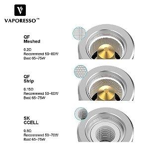 Bobina Reposição (Coil Head) - VAPORESSO QF STRIP (Atomizador Skrr)