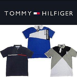 Camisa polo Tommy Hilfiger gola - Tamanho GG