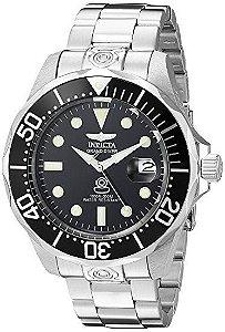 Relógio Invicta 3044 Stainless Steel Grand Diver Original