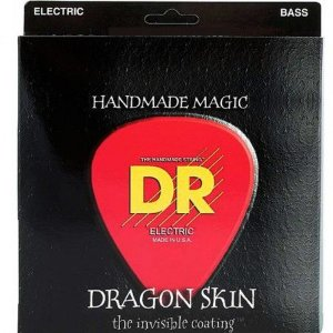 Encordoamento Dr Strings Contrabaixo 5 Cordas (.040-.120) -DSB5 -40- Handmade Magic- Dragon Skin