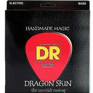 Encordoamento Dr Strings Contrabaixo 5 Cordas (.040-.120) -DSB5 -40- Handmade Magic- Dragon Skin