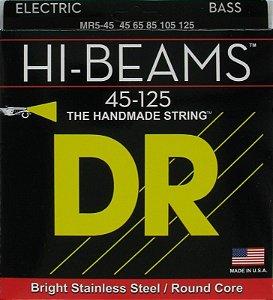 Encordoamento Dr Strings Contrabaixo 5 Cordas (.045-.125) -MR5-45- HI-Beams-The Handmade strings