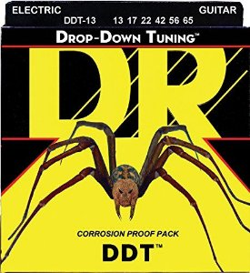Encordoamento Dr Strings Guitarra 6 Cordas (.013-.065) -DDT-13 - Drop-Down Tuning