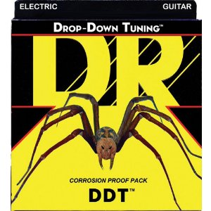 Encordoamento Dr Strings Guitarra 7 Cordas (.011-.065) -DDT 7/11- Drop-Down Tuning