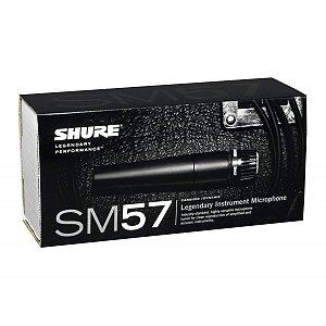 Microfone Dinâmico Shure SM57 - Para Voz e Instrumentos