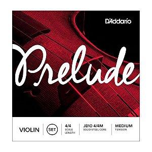 Encordoamento Daddario Violino - Medium Tension - (J810 4/4M Solid Steel Core)