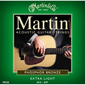 Encordoamento Violão Martin - M530 (.010-.047)