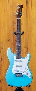 Guitarra Strato Benj Custom - Azul