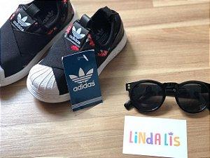 985f54c5ff1 Calça Adidas Inspired Rosê e Preta - Linda Lis