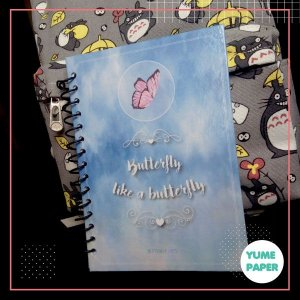 Caderno A5 Butterfly - BTS