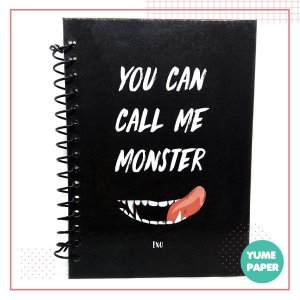 Caderno A5 - Monster EXO