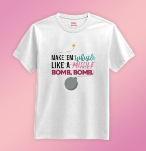 Camiseta  - BLACK PINK BOMB BOMB!