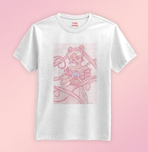 Camiseta - Sailor Moon Princess