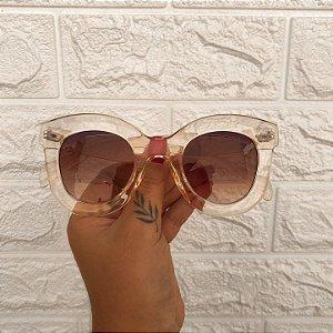 Óculos Jane Rosa Transparente