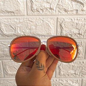 Óculos Mile Vermelho