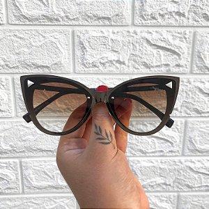 Óculos Alice Marrom