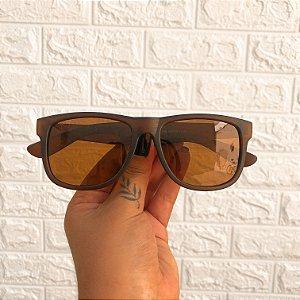 Óculos Jhon Marrom