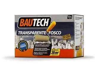BAUTECH TRANSPARENTE FOSCO Kit c 2,5Kg