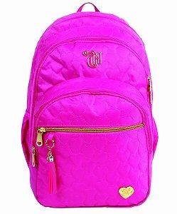 Mochila costas Capricho Love IX - Pink ref:10987