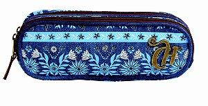 Estojo Capricho Etnic Blue ref:10993
