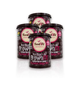 Combo Amor em Lata Bombom de Brownfit - Food4fit
