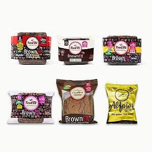 Combo Família Brownfit - Food4fit
