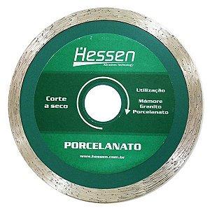 Disco Diamantado 110mm Porcelanato Corte Seco Hessen 13497