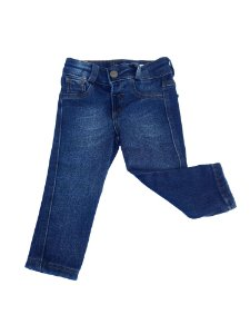 Calça Jeans Bebê Menino Azul