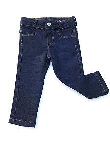Calça Jeans Bebê Menino Azul Marinho