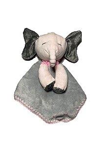 Naninha Bebê Elefante Cinza Lessa Kids