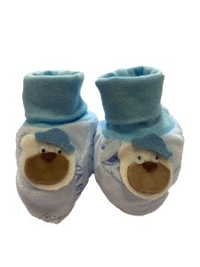 Sapatinho Bebê Menino Azul Lessa Kids