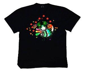 Camiseta Collab APE of GOD x D.Bizer color preta