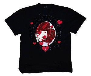 Camiseta Collab APE of GOD x D.Bizer espelho preta