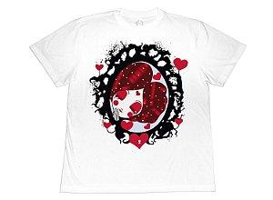 Camiseta Collab APE of GOD x D.Bizer espelho branca