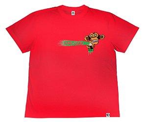 Camiseta APE of GOD vs Robson Melancia vermelha