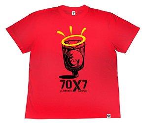 Camiseta APE of GOD vs Jc_Labirinto vermelha