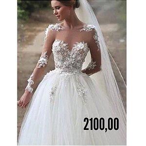 vestido de noiva Three