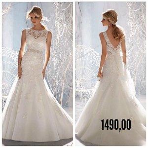 Vestido de noiva Six